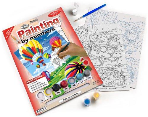 Pintura por números con pinturas y pincel todo incluido