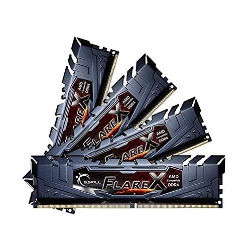 G.Skill Flare X 32 GB, 4 x 8 GB, DDR4, 3200 MHz CL14