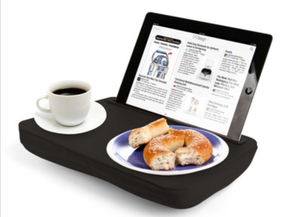 Mesa para Ipad,tablet, móvil... Kikkerland, color Negro