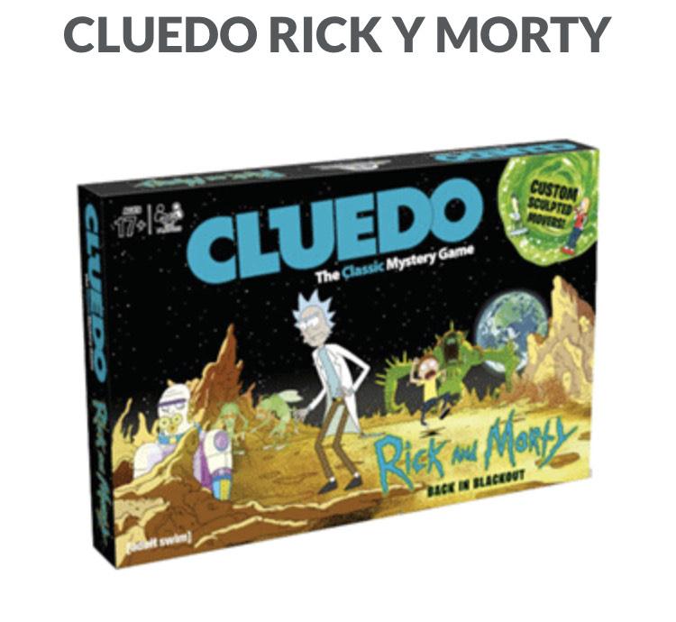 CLUEDO RICK Y MORTI