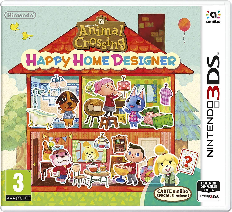 Animal crossing happy home designer 3ds +carta amiibo