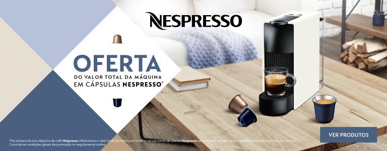 Precio de la cafetera en cápsulas (sólo Portugal).