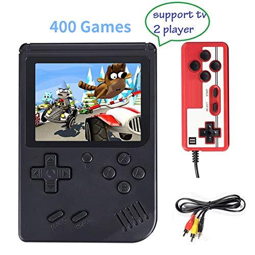 Consola de Juegos Portátil 3 Pulgadas 400 Juegos Retro. Oferta Flash, termina pronto