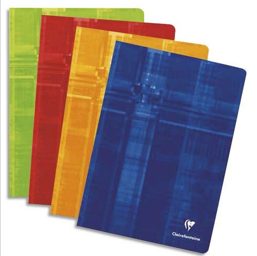 Clairefontaine - Lote de 25 Cuadernos grapados