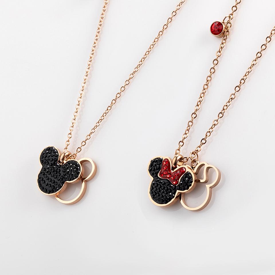 Collar de Mickey y Minnie