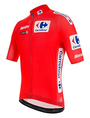 Maillot rojo Santini La Vuelta 2019. Ahora disponible en talla XXL