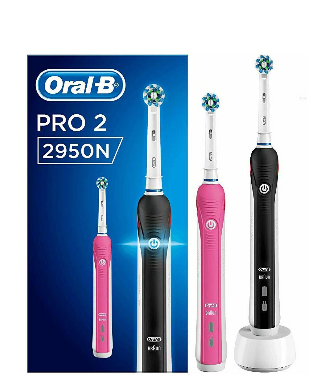 2 cepillos Oral-B 2950N Pro 2