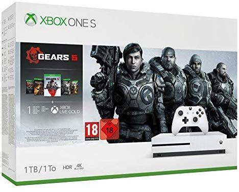 Xbox One S + Star Wars o Gears 5 desde Amazon