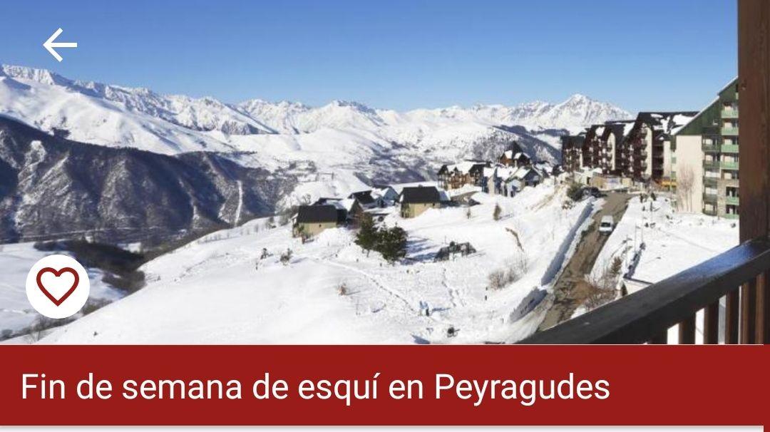 2 Noches Hotel+Spa+2 días esquí en Peyragudes