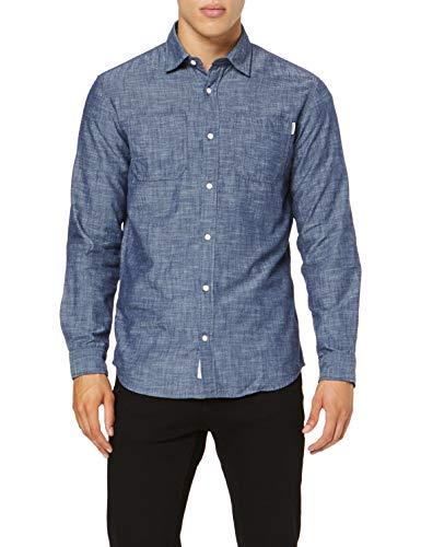 JACK & JONES Jcosteve Shirt LS Worker Camisa para Hombre talla L.
