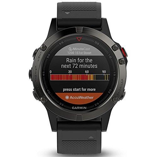 Garmin Fenix 5 - Reloj multideporte, con GPS