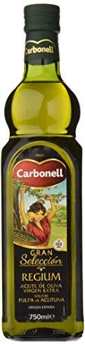 Carbonell Aceite De Oliva Virgen Extra Monovarietal Regium En Vidrio - 750 ml en Amazon Pantry