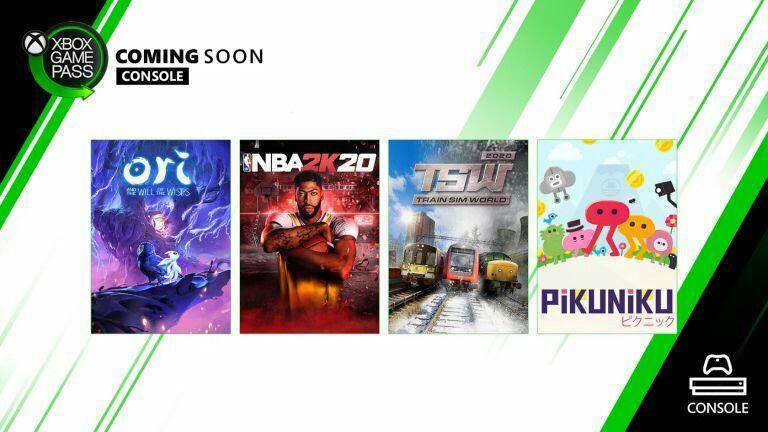 Juegos Xbox Game Pass Marzo