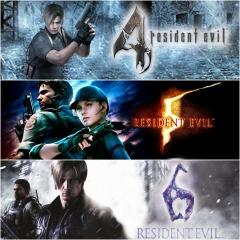 Pack triple Resident evil 4, 5 y 6 en pstore para psplus