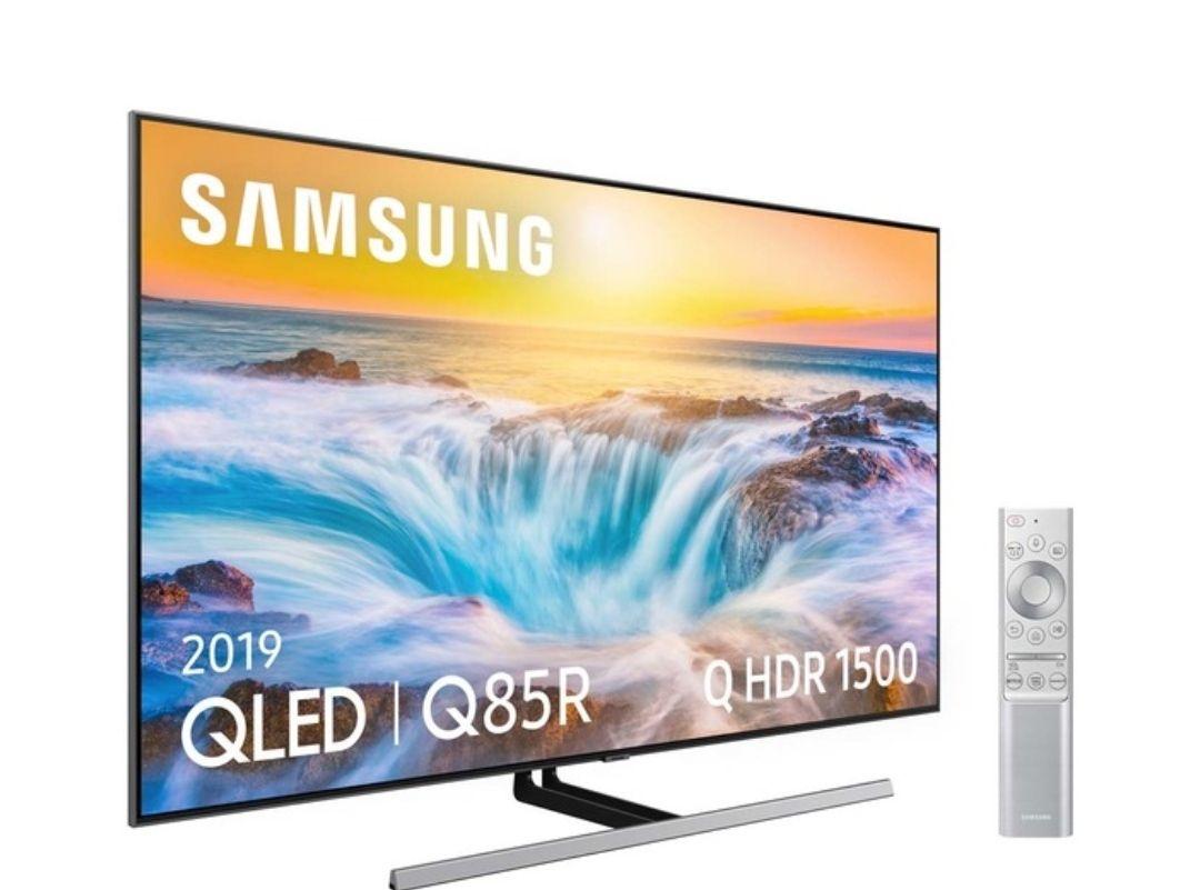 "TV QLED 189 cm (75"") Samsung QE75Q85R 4K con Inteligencia Artificial (IA), HDR y Smart TV"