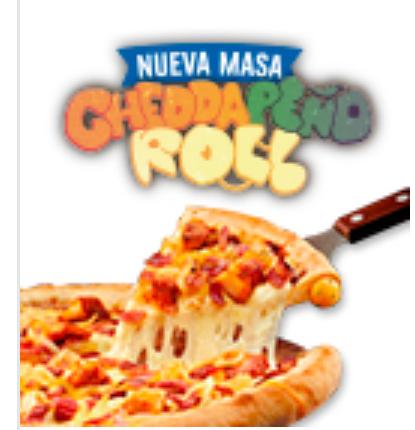2x1 en las pizzas con cheddapeño