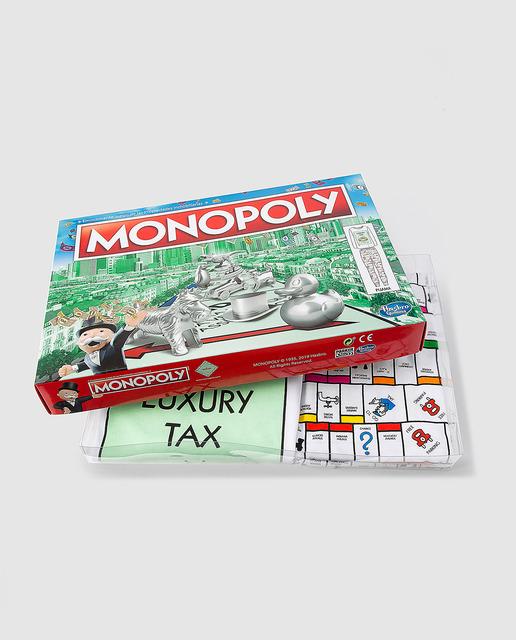 Pijama completo Monopoly manga larga, tallas 40 y 42