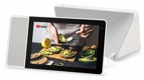 """Asistente inteligente - Lenovo Smart Display 8"""", HD, Snapdragon 624, Videollamada, Cámara 5 MP, Gris"""