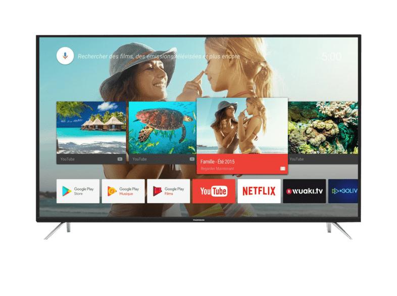 """TV LED 50"""" - Thomson 50UE6420, Ultra HD 4K, HDR, Pro Dimming, Quad Core, Smart TV"""