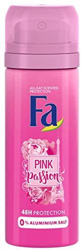 12 Unidades Desodorante Fa 50ml Pink Passion