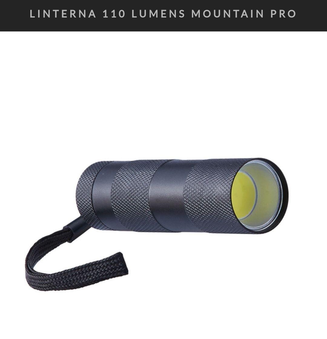 Linterna 110 Lumens Mountain PRO