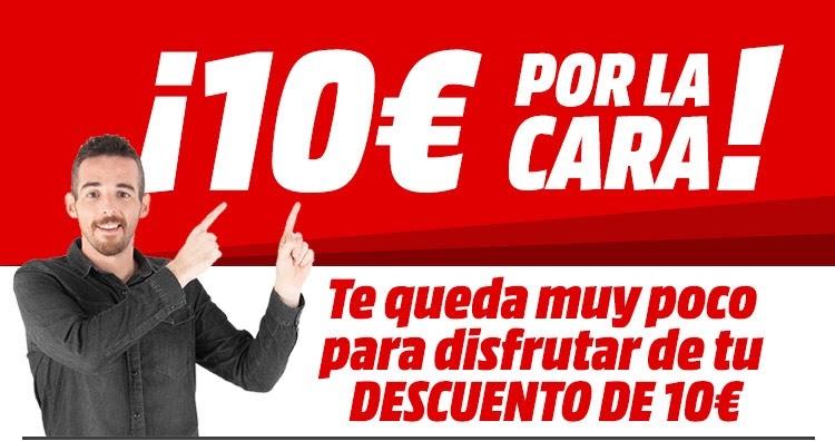 Código -10€ en MediaMarkt para +100€