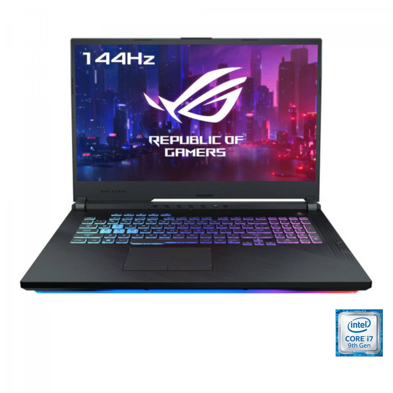 Portátil Asus G731GU-H7154 con 144hz, i7, 16GB, 512GB, GTX1660Ti 6GB, 43,94cm - 17,3
