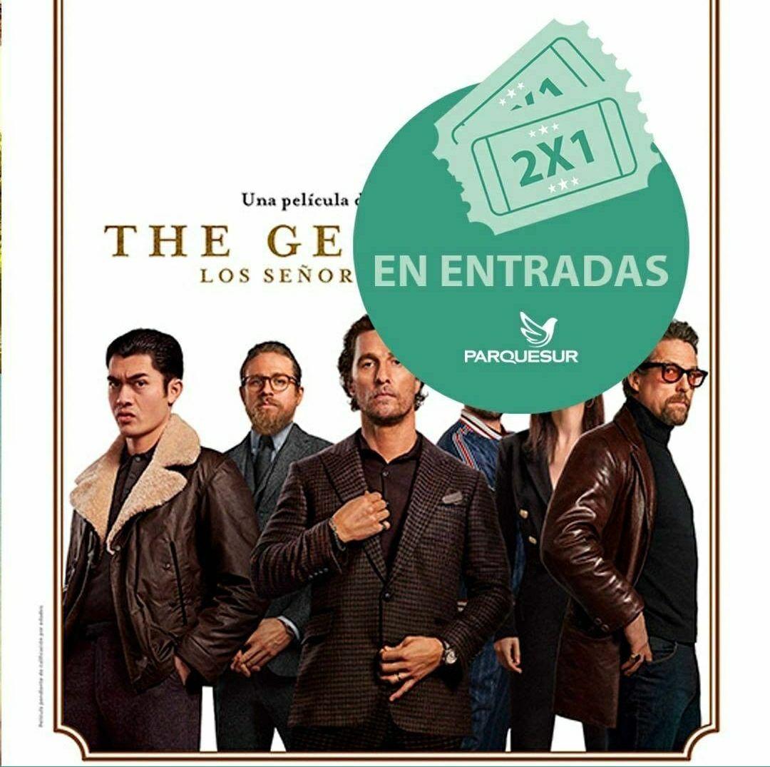 Entradas de cine 2x1 en Parquesur para ver Los Señores de la Mafia