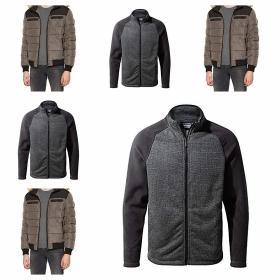 Abrigo y chaqueta para hombe.KAPORAL Fobre Abrigo para Hombre y Craghoppers Alford Chaqueta, Hombre.