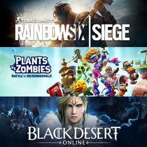 XBOX :: Juega gratis Plants vs. Zombies, Black Desert y Tom Clancy's Rainbow Six Siege