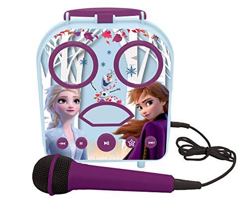 Karaoke infantil portátil de Frozen 2