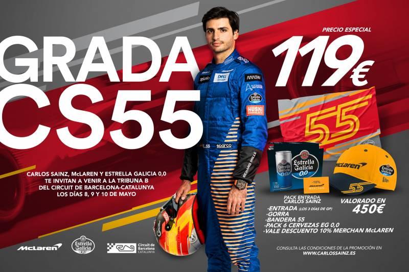 Grada Carlos Sainz 2020