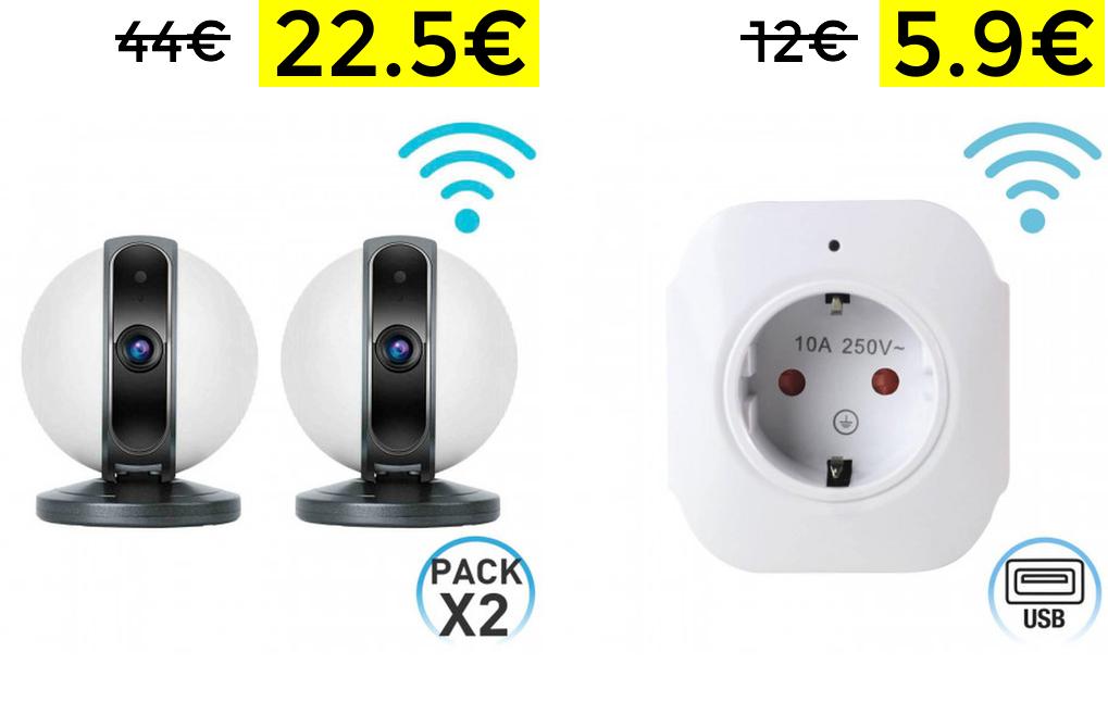 50% de descuento y envío GRATUITO en selección Wifi y cámaras en ORION91