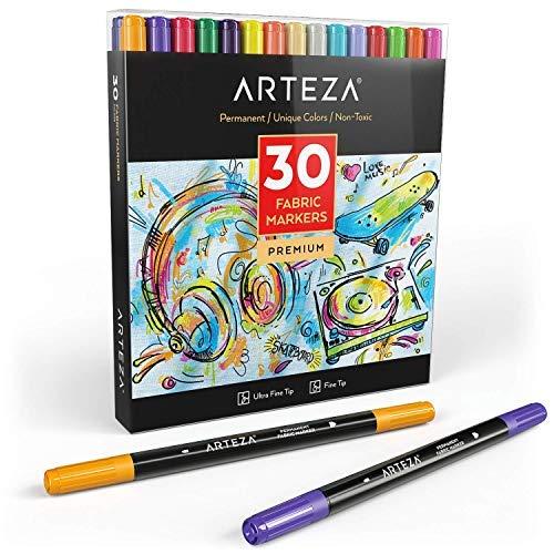 Rotuladores para tela   Juego de 30 colores