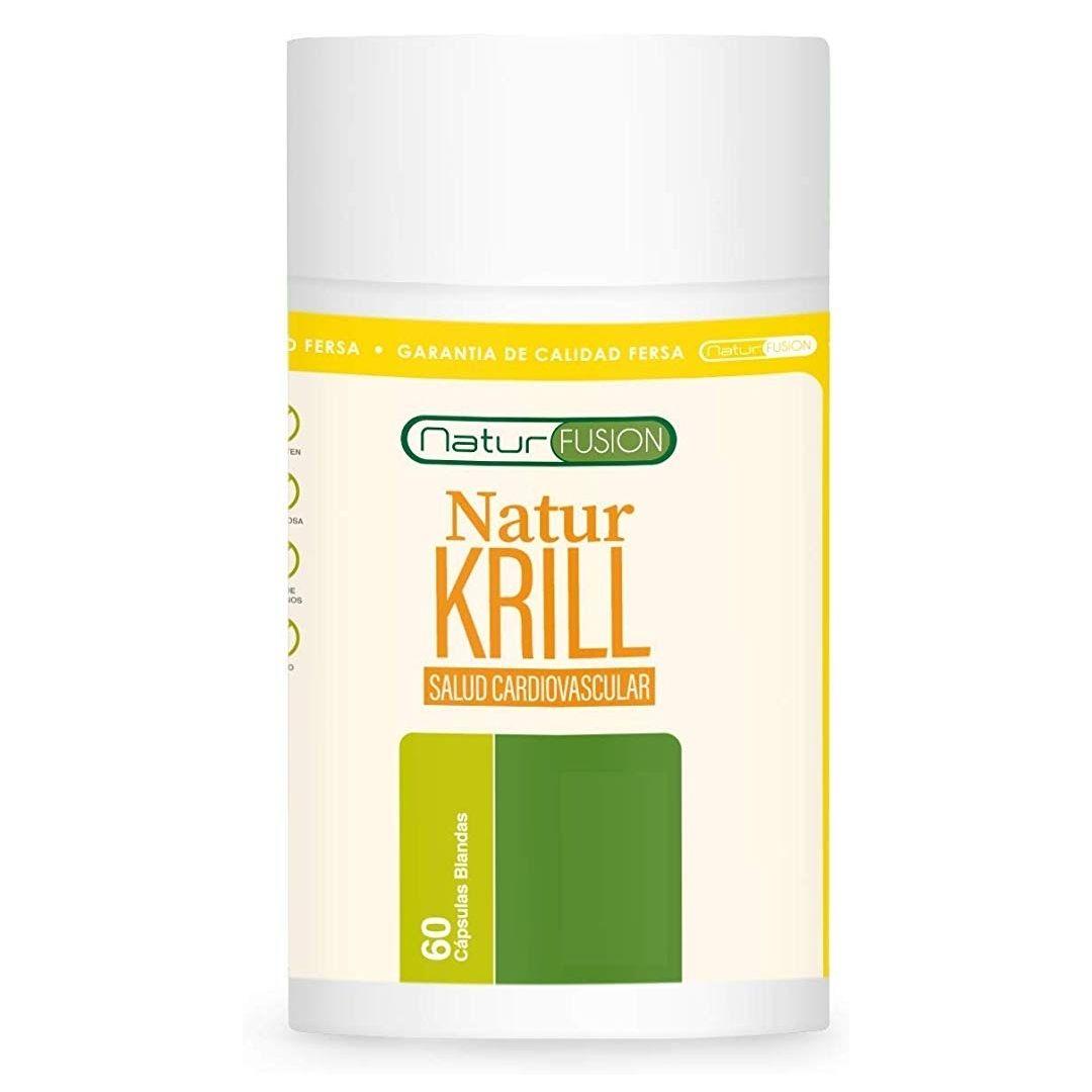 Aceite de Krill Puro + EPA/DHA + Astaxantina | Dosis rica en Omega 3 60 cápsulas