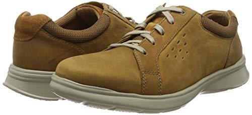 Clarks Cotrell Stride, Zapatos de Cordones Derby para Hombre.