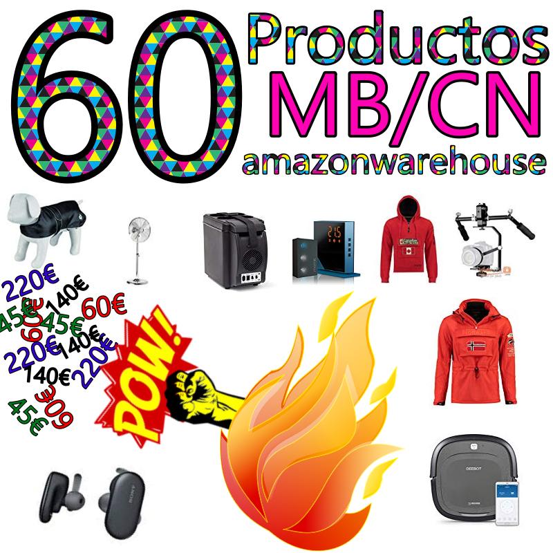 [+10 BONUS SABADO] REACO/PILACIÓN - AmazonWarehouse - 60 Productos MB/CN con Descuentazo