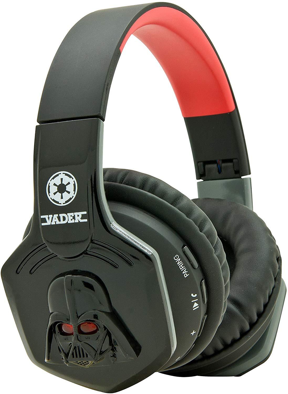 """Auriculares Star Wars Darth Vader Bluetooth inalámbricos Reaco """"muy bueno"""" Amazon"""