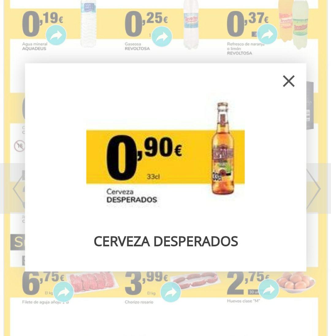 Cerveza Desperados, 33cl en Supeco