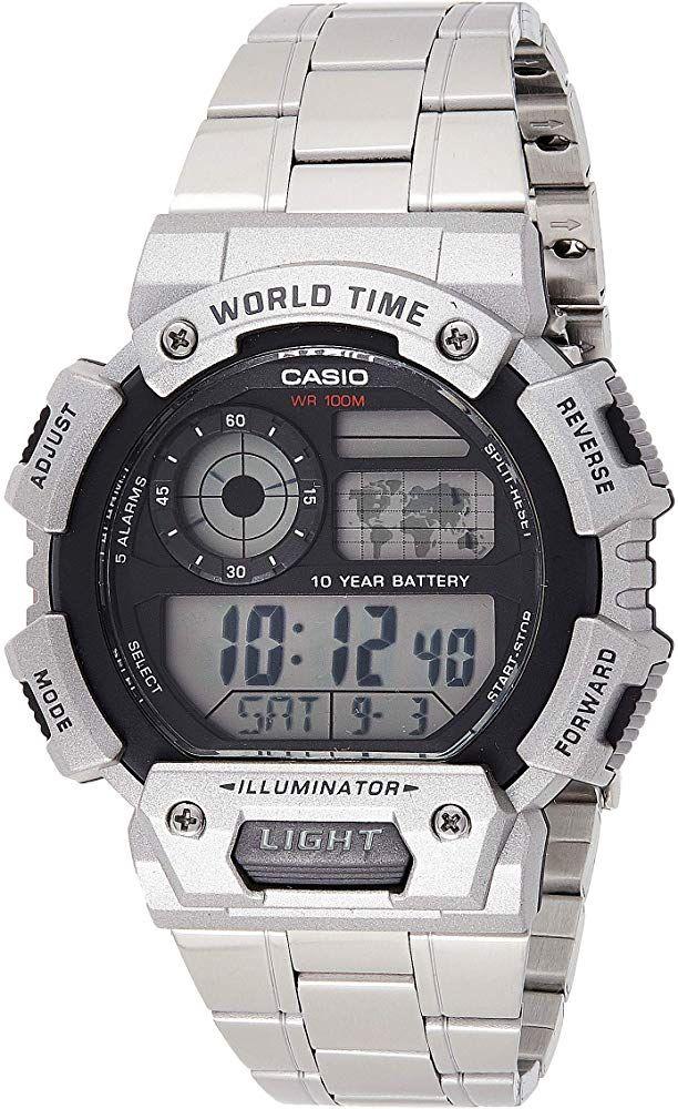 Reloj Casio para Hombre Plateado (DESCUENTO al tramitar el pedido)