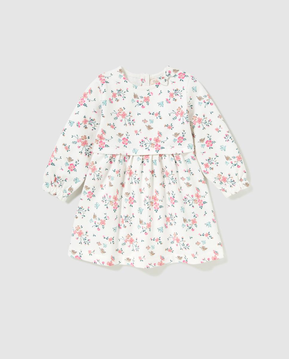 UNIT Vestido felpa de bebé Unit estampado