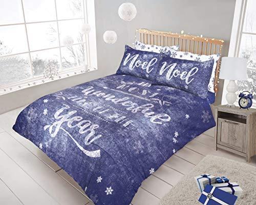 Juego de funda nórdica de cama grande para amantes de la Navidad