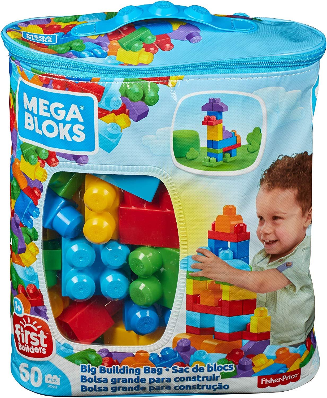 Mega Bloks Bolsa clásica con 60 bloques (Precio al tramitar el pedido)