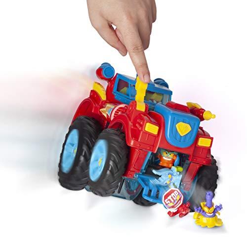 SuperZings- PlaySet Heroe Truck Vehículos y Figuras Especiales