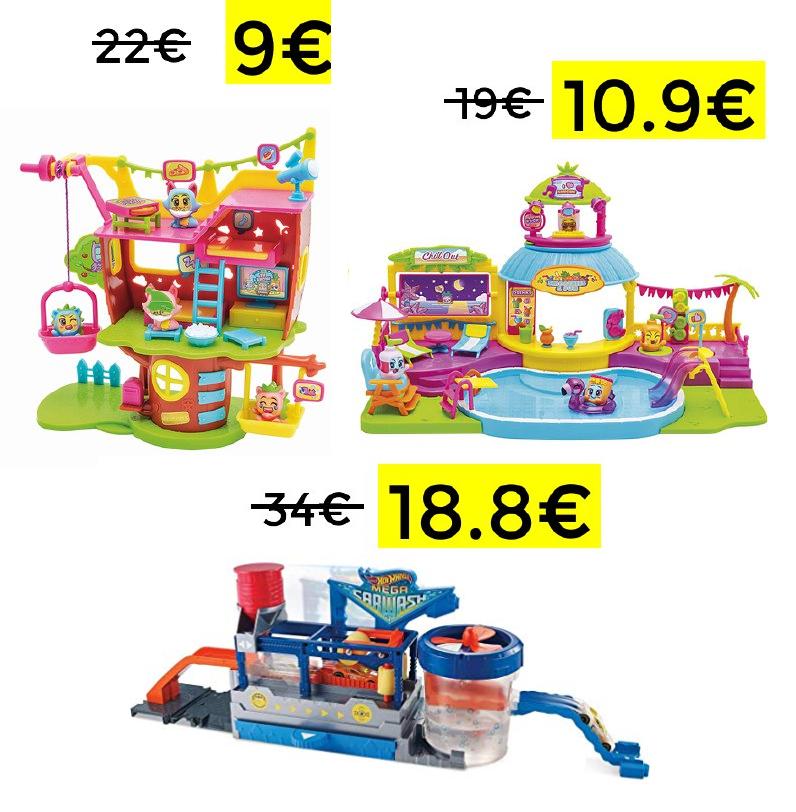 Preciazos en juguetes con descuento automático