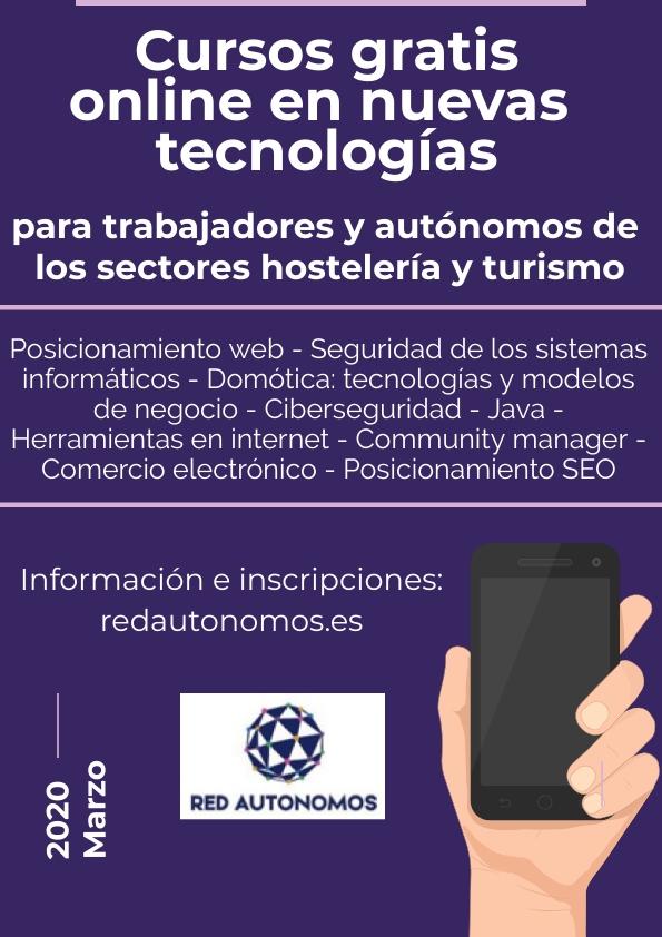 Cursos gratuitos online hostelería & turismo