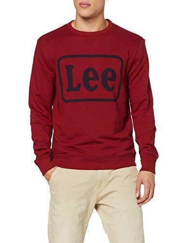 Lee Logo Crew SWS Sudadera para Hombre en 8 colores clasificado por tallas en los colores mas asequibles.Todas de 13€ a 27€