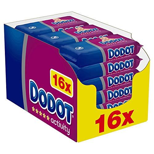 Toallitas Dodot Activity 16 paquetes, 864 toallitas