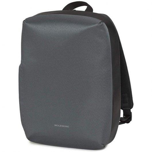 """Moleskine Notebook Backpack Mochila para Portátil 15"""" Gris"""