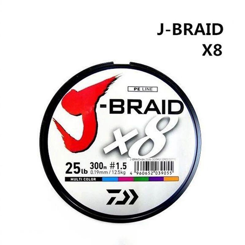 Daiwa J-Braid 8 trenza 300 M